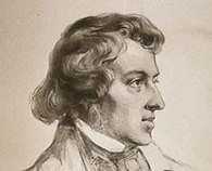 drawing of Frederic Chopin