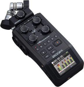 Zoom H6 recorder, 2020 model