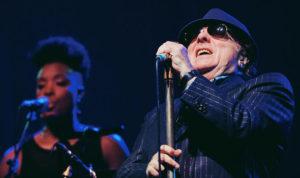 photo of Van Morrison performing