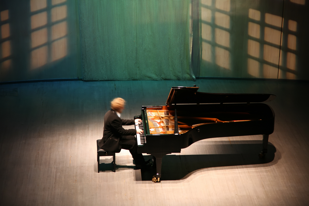 photo of solo pianist
