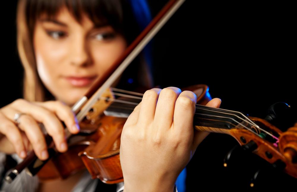 photo of violinist