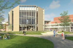 university music building